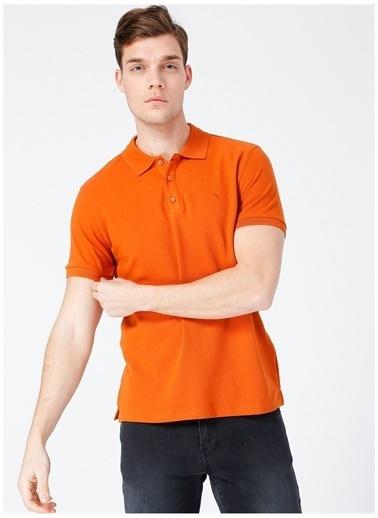 Fabrika Comfort Fabrika Comfort Kiremit Erkek Polo T-Shirt Kiremit